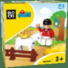 Klocki Blocki MUBI – Jeździec MU2366C
