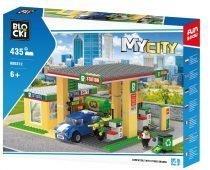 Klocki Blocki MyCity Stacja benzynowa kb0212