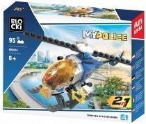Klocki BLOCKI MyPolice 2 w 1 helikopter