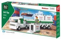 BLOCKI RABEN Ciężarówka kontenerowa
