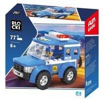 klocki blocki pepco policja radiowóz policyjny zabawki pepco