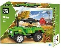 klocki blocki pepco farma gospodarstwo traktor z klocków zabawki pepco