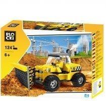 klocki blocki pepco city budowa miasto spychacz budowlany zabawki pepco