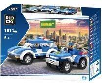klocki blocki pepco policja pościg policyjny radiowozy pościgowe radiowóz policyjny zabawki pepco