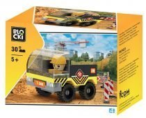 klocki blocki pepco city budowa ciężarówka transportowa transporter budowlany zabawki pepco