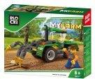 BLOCKI – MyFarm Traktor z pługiem KB0317