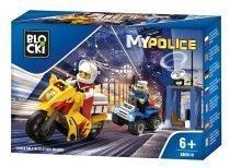 klocki BLOCKI - MyPolice Pościg za motocyklistą KB0618