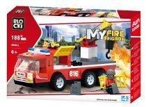 BLOCKI MyFarm Wóz strażacki z hakiem holowniczym KB0816 holownik