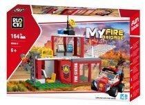 BLOCKI MyFireBrigade remiza strażacka kb0817 fire brigade straż