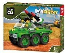 klocki BLOCKI - MyArmy Wóz z rakietami KB0918