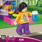 Bohaterki BLOCKI MyGirls Best Friends Kim