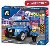 klocki BLOCKI - MyPolice Radiowóz patrolowy KB0617