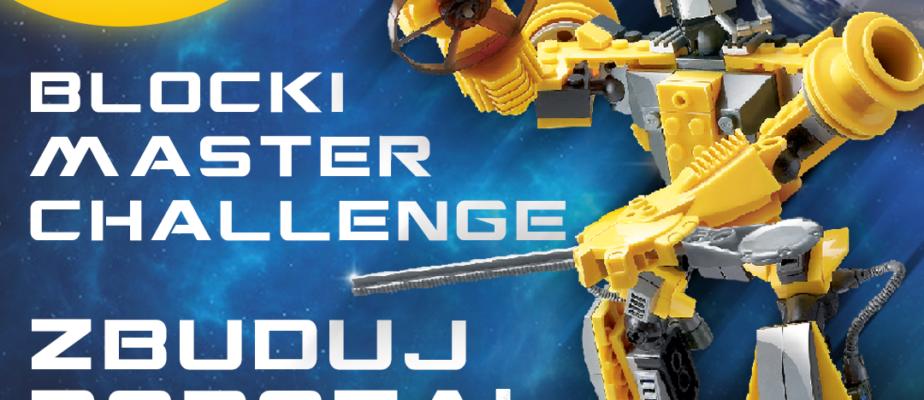 Konkurs! BLOCKI Master Challenge – Zbuduj Robota! Wygraj klocki BLOCKI!