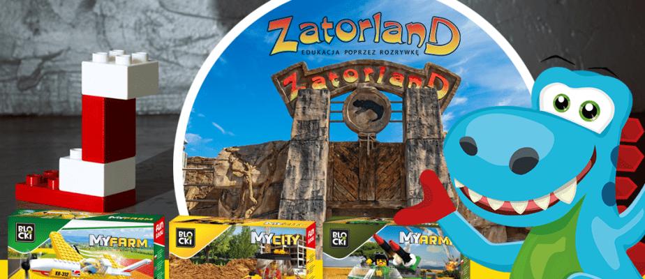 Konkurs! Zbuduj dinozaura z Blockami i Parkiem Rozrywki Zatorland!